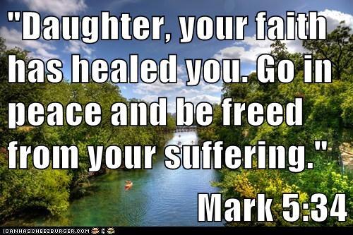 Mark 5:34