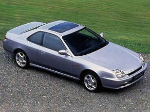 my first car Honda Prelude (1997 – 2001).