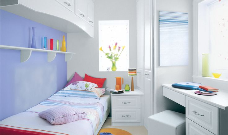Box room design fitted furniture works wonders in small - Small space bedroom furniture ...