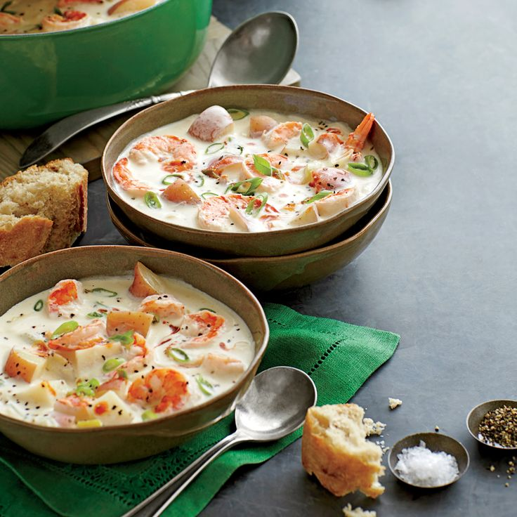 Shrimp-and-New Potato Chowder | MyRecipes