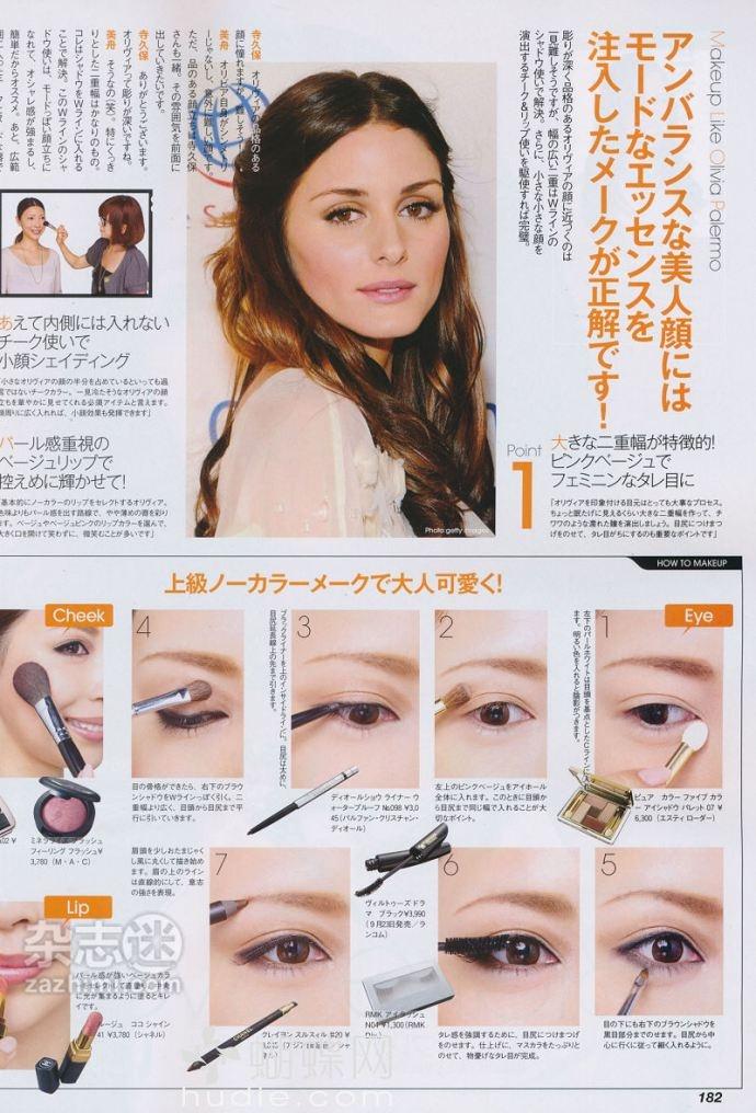 Olivia Palermo Make-up | maquillaje