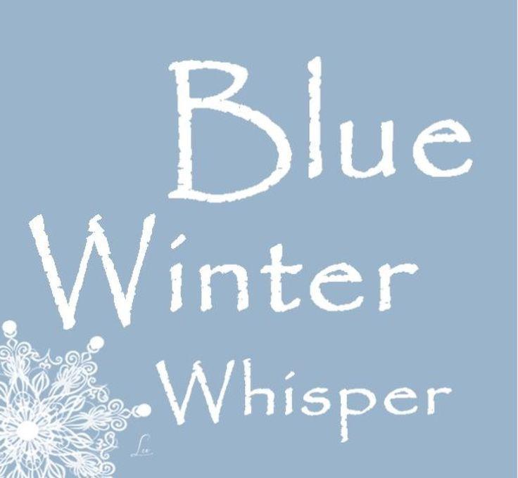Blue Winter Whispers