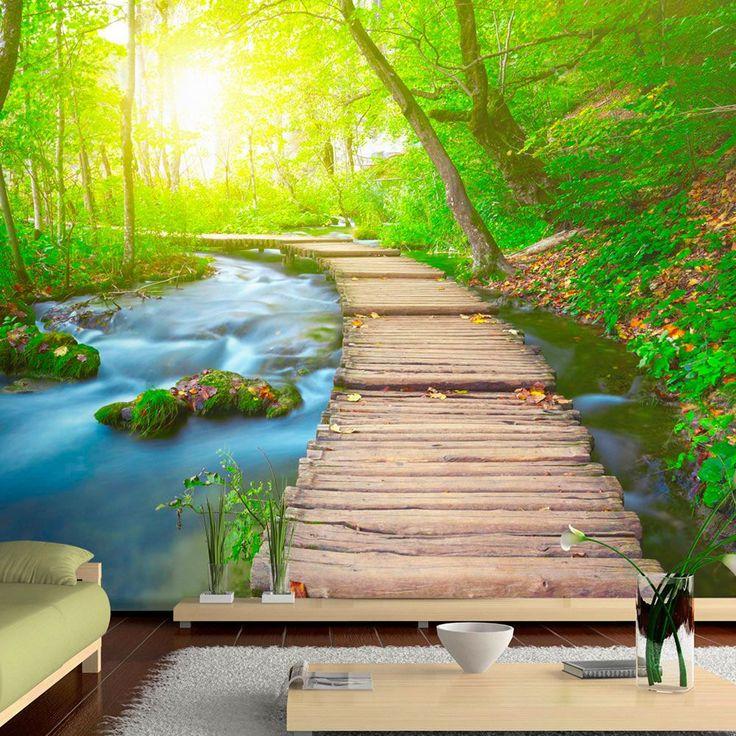 Papier peint GREEN FOREST