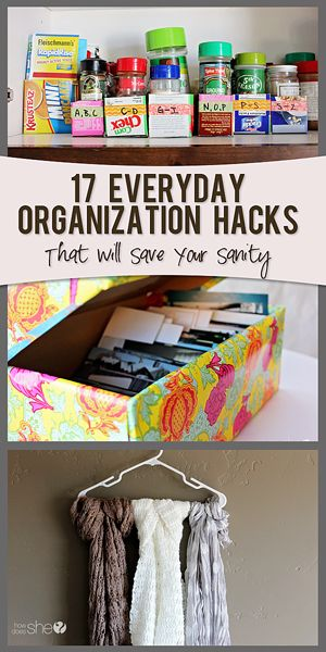 17 ever day organization hacks
