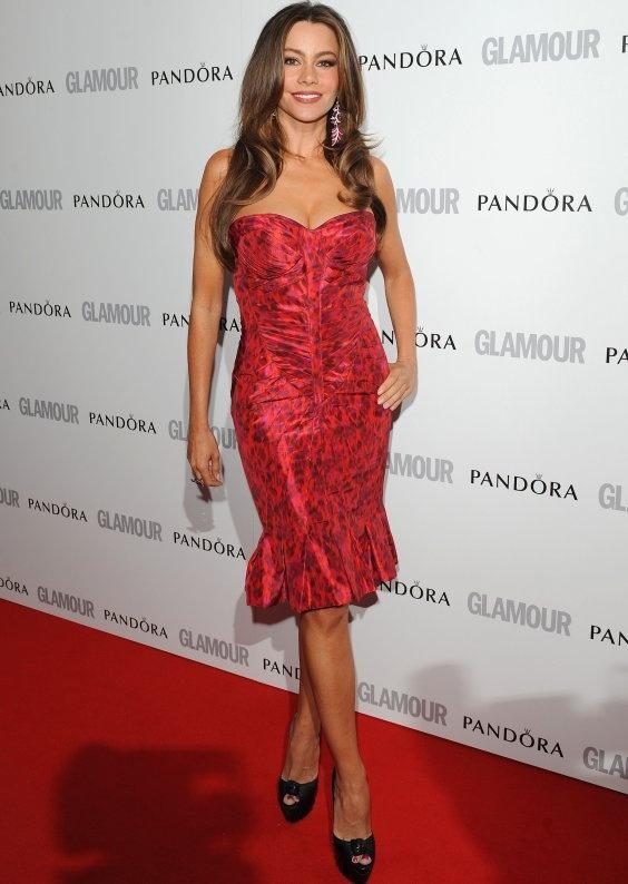 Sofia Vergara - zac posen dress