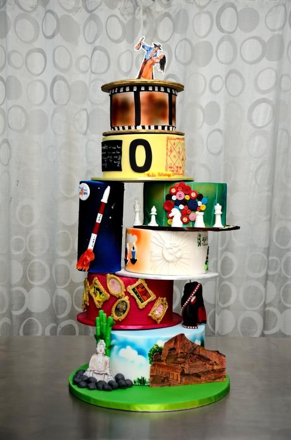 Incrediable India International Cake Collaboration  - cake by Cake Project - Baking Passion