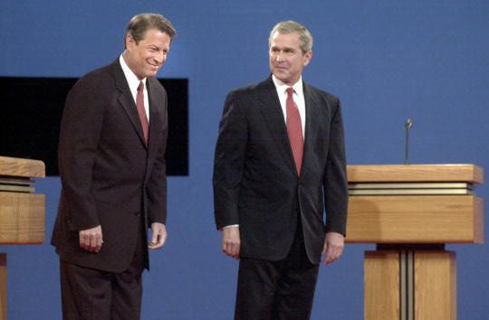 2000 Presidential Election - Unclear Winner in U.S. Presidential Election  2000