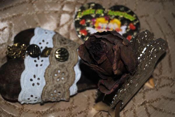 Винтажное сердце в стиле шебби шик на День святого Валентина. Пошаговый мастер класс с фото.