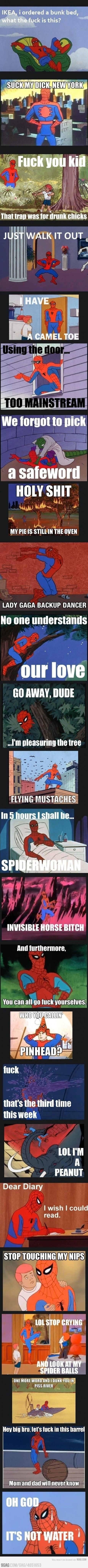 Spidey strikes again!