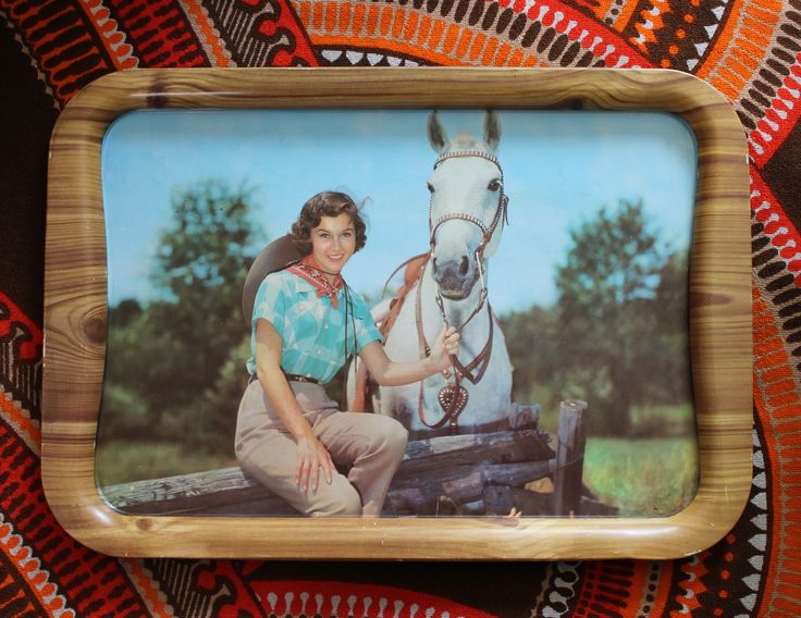 Vintage tray, made in England
