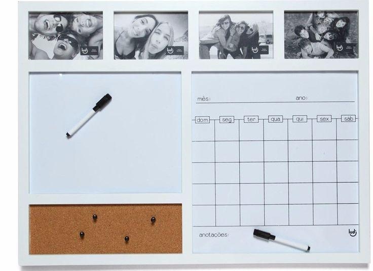Resultado de imagem para calendário magnetico