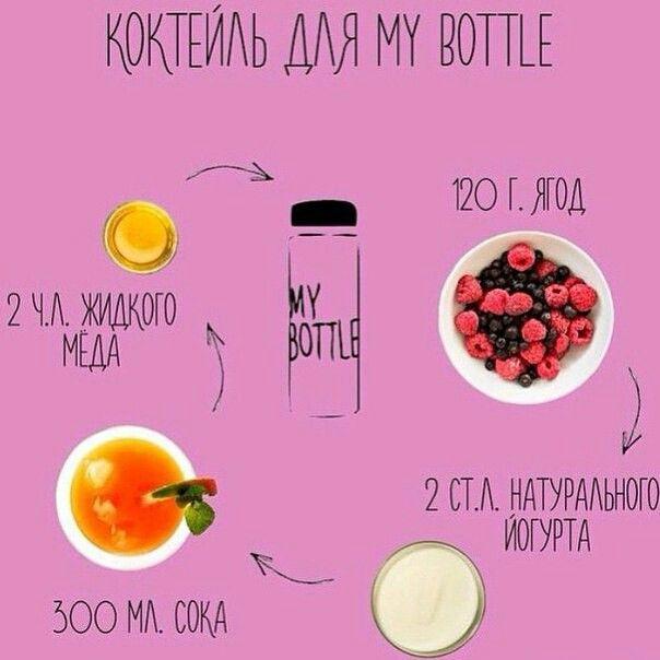 Коктейль для My bottle
