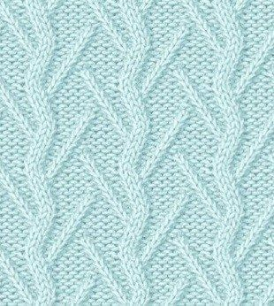 Cool pattern; I'd like to see it in a different color.
