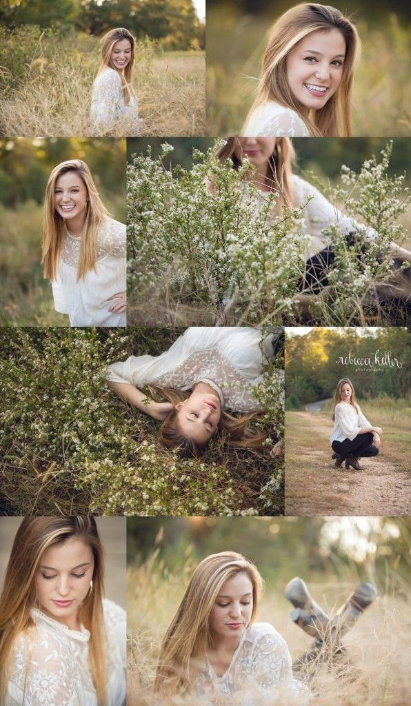 Raleigh Outdoor Senior Portraits Photographer – The Daisies