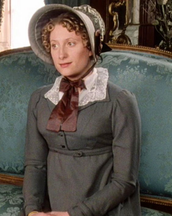 """Susannah Harker as Jane Bennet in the televised dramatization of Jane Austen's  """"Pride and Prejudice"""" in 1995."""