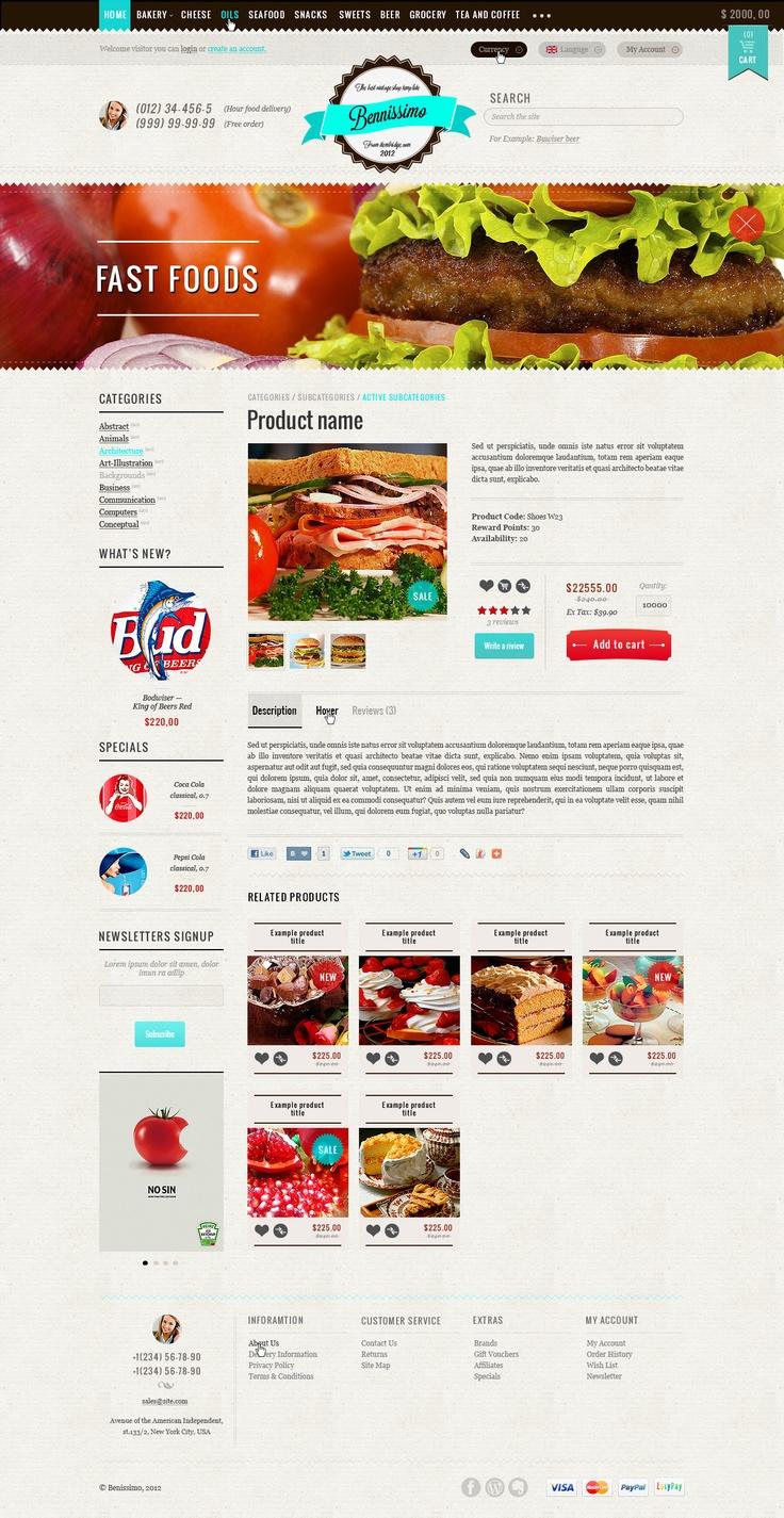 Layout photoshop web design website template tutorials tutorial 022 - Http Themeforest Net Item Bennissimo Vintage Style Style Storevintage Stylecanvastemplatesweb Design