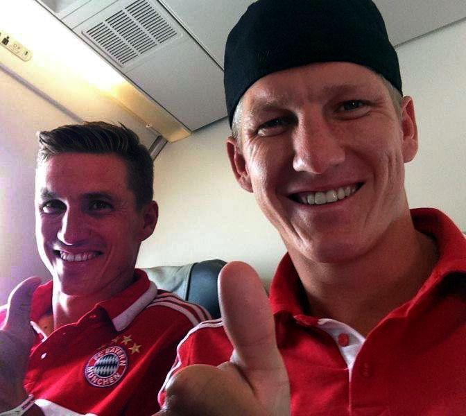 Tobi and Basti Schweinsteiger - FC Bayern