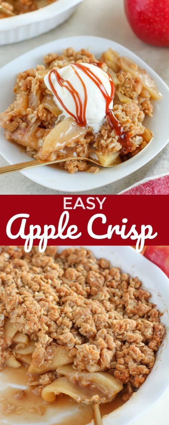 The only Apple Crisp Recipe you'll ever need – Ten…
