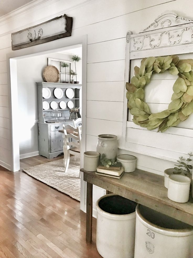 Cheap and Easy Hallway Planked Wall Tutorial Plank walls