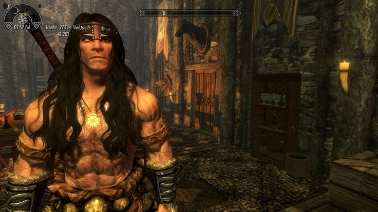 Since Day One 11/11/11 my one and only character: ONE-EYE Nord Barbarian #games #Skyrim #elderscrolls #BE3 #gaming #videogames #Concours #NGC