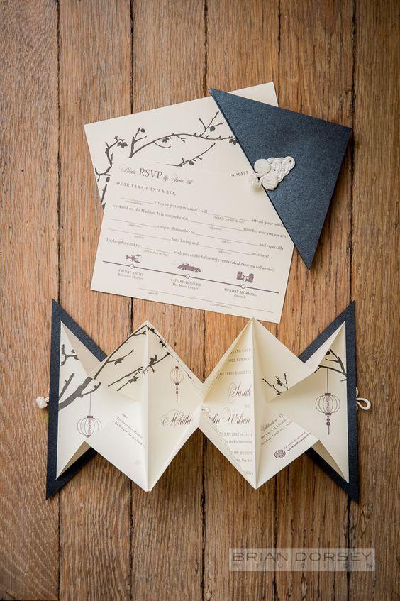 45 Super Cute Origami Wedding Ideas
