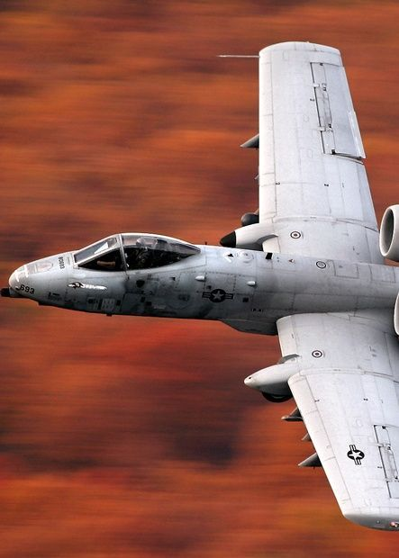 A-10 (max. speed 439 mph, 706 km/h)