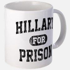 Vintage Hillary For Prison Mugs for
