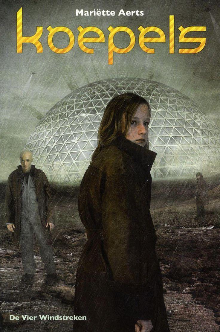 """In """"Koepels"""" (Mariette Aerts) leeft Marni in een soort Luilekkerland. Ze kan altijd online en er zitten heel speciale effecten in haar games, die echt supercool zijn. Marni leeft in de toekomst, in..."""