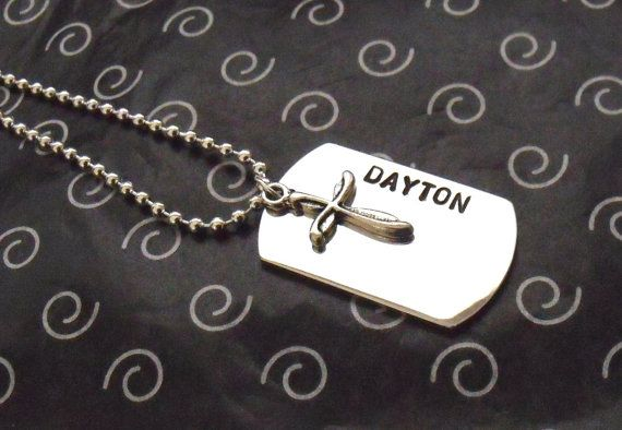 DOG TAG Customized YOUR Way by littlepieceofmyart, perfect for First Communion $22.50