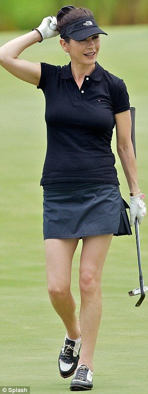 catherine zeta jones golf pinterest. Black Bedroom Furniture Sets. Home Design Ideas