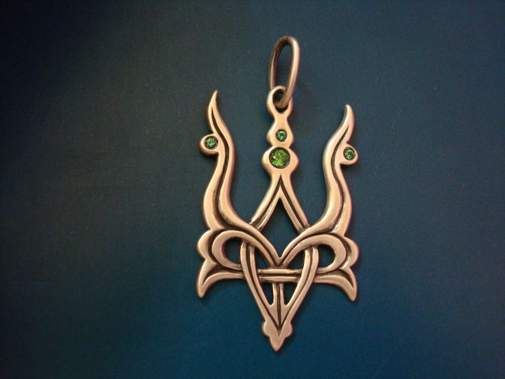 Emblem of Ukraine (silver)