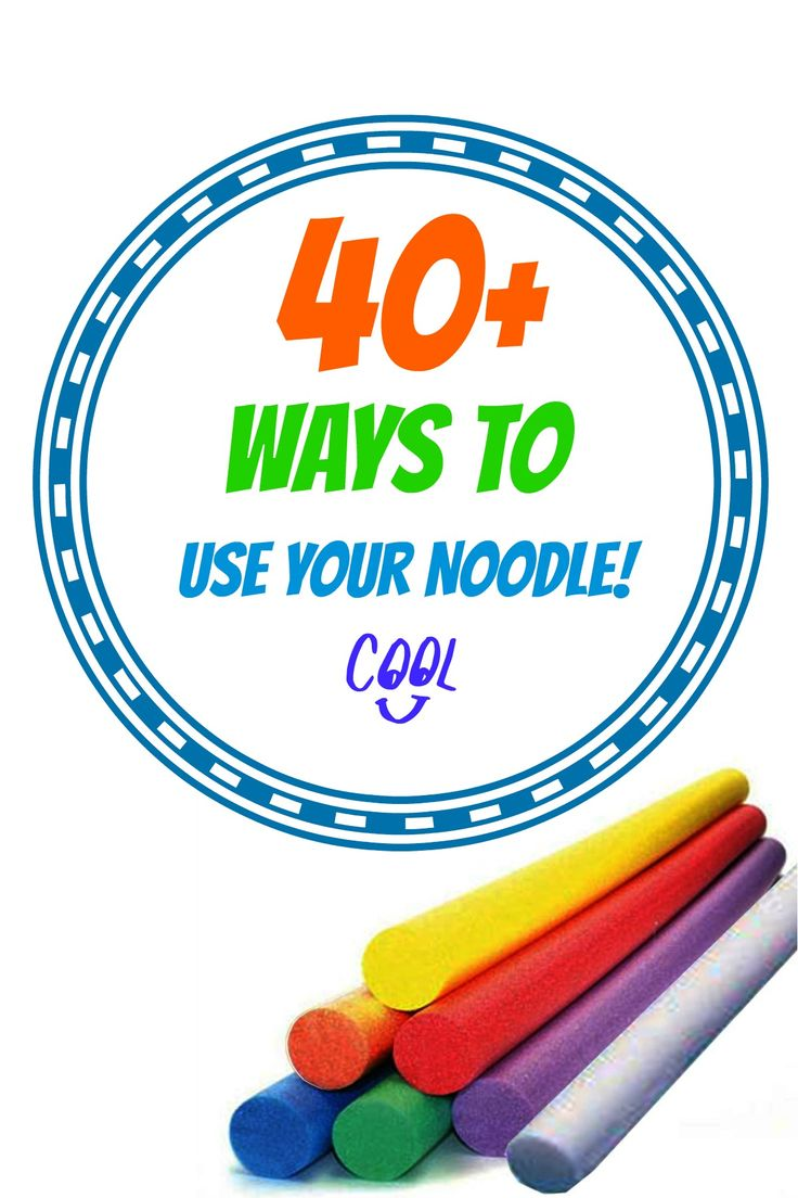 40+-Ways-to-use-your-pool-noodle (1)- I pinned this for the telescope idea.