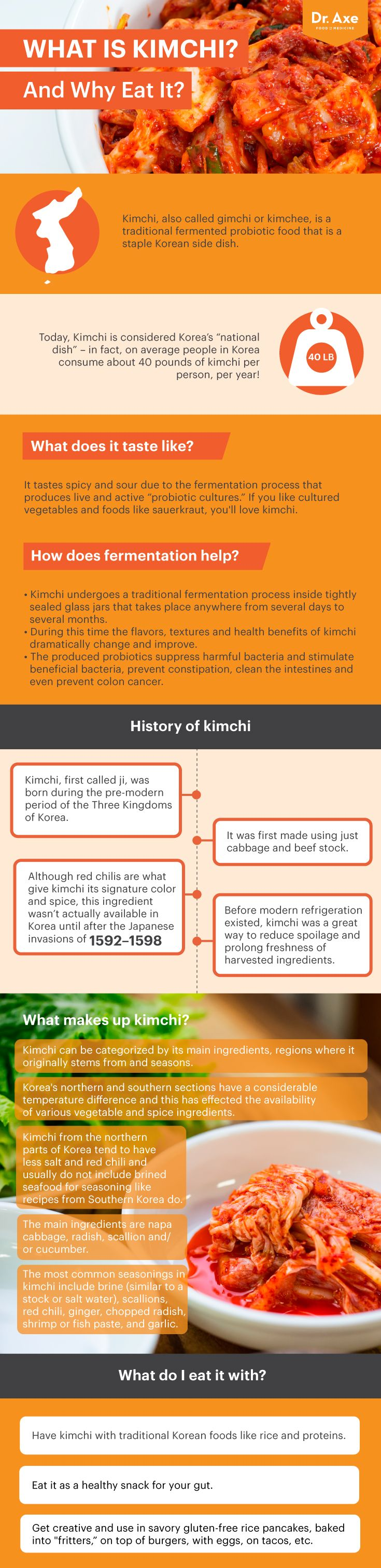 Guide to kimchi - Dr. Axe http://www.draxe.com #health #holistic #natural