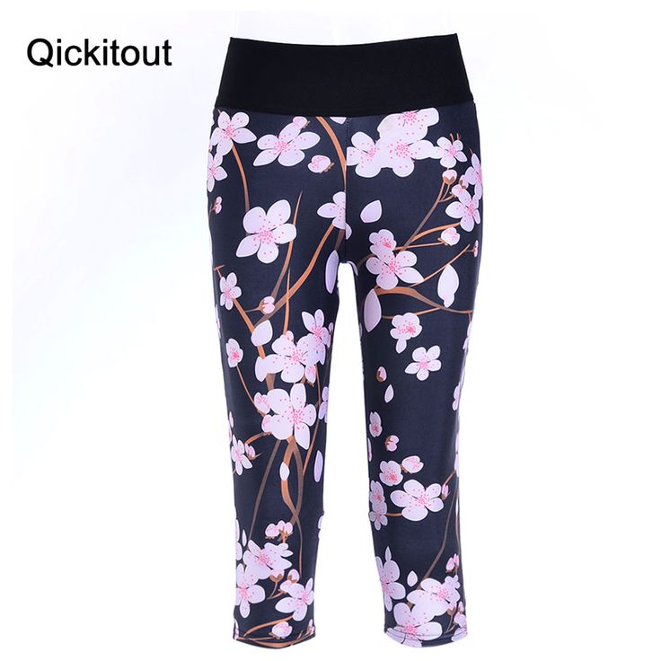 Sexy 2016 women's 7 point pants Fashion women's leggings Winter bloom digital print women high waist Side pocket phone pants Only $19.99 => Save up to 60% and Free Shipping => Order Now! #Bracelets #Mystic Topaz #Earrings #Clip Earrings #Emerald #Necklaces #Rings #Stud Earrings www.leggingsi.com...
