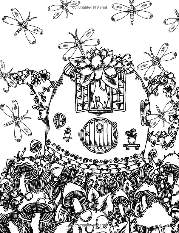 whimsical bear coloring pages - photo#36