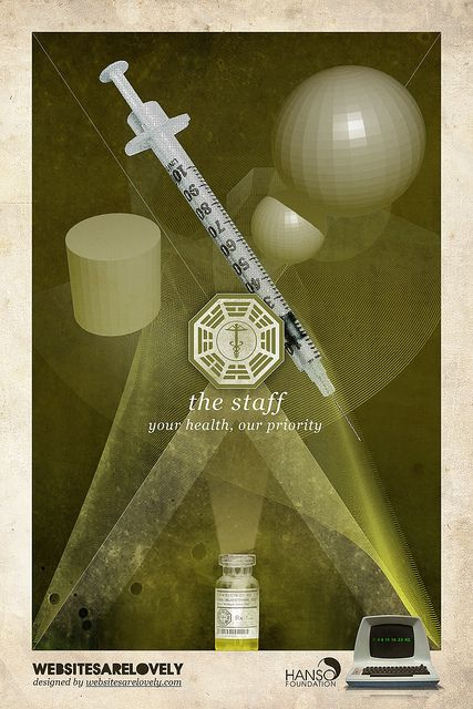 """The Staff was a DHARMA Initiative station which was used as a medical facility. After the Purge, the Others appear to have used the station infrequently for the treatment of pregnant women. From the survivor's camp, it takes about a half a day or so to get there and back. No orientation film for the Staff has been found, and unlike the Swan and the Arrow stations, there is no """"quarantine"""" warning on the station's doors."""