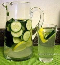 вода жир живота