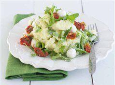 Rucolastamppot met mozzarella en zongedroogde tomaatjes | Xenos