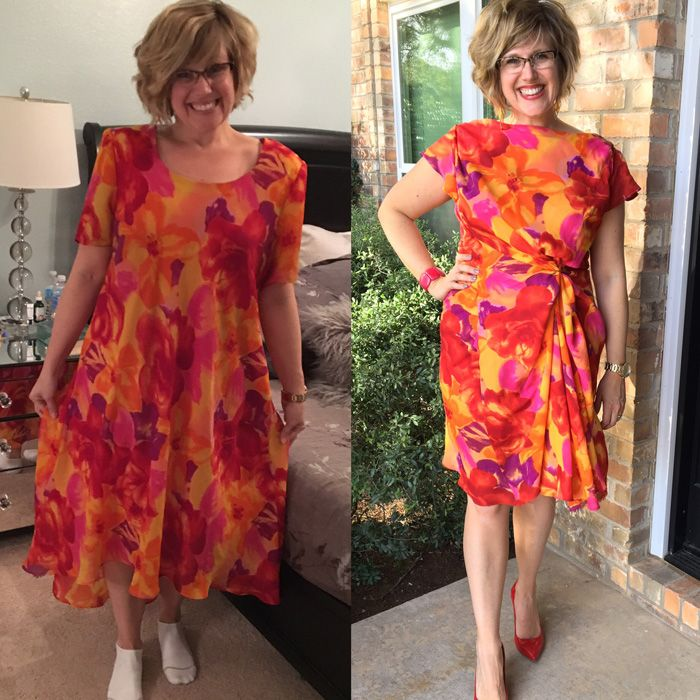 Thrifty Thursday - Spring Fever Refashion | ABC Mom Style - Featured At The Home Matters Linky Party 127