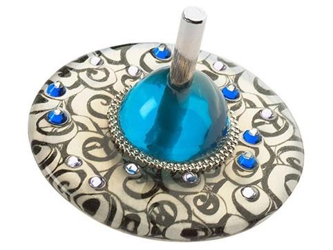 Toupies Lalo Orna. Une belle collection de toupies originales polymère décorées