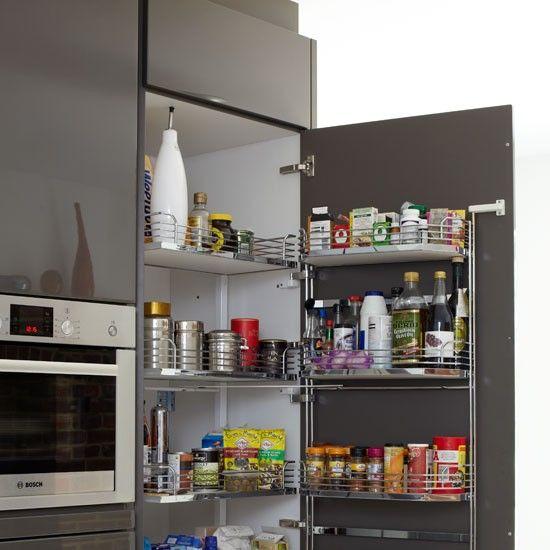 Larder Cupboard A Tall Larder Unit With Well-designed Internal Storage, Like This, Was