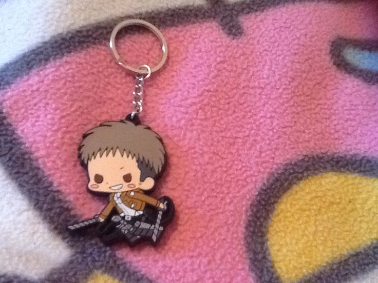 Chibi jean keychain! I got it from the anime convention! By chloe pash