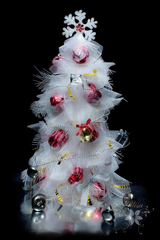 Christmas Tree Organza
