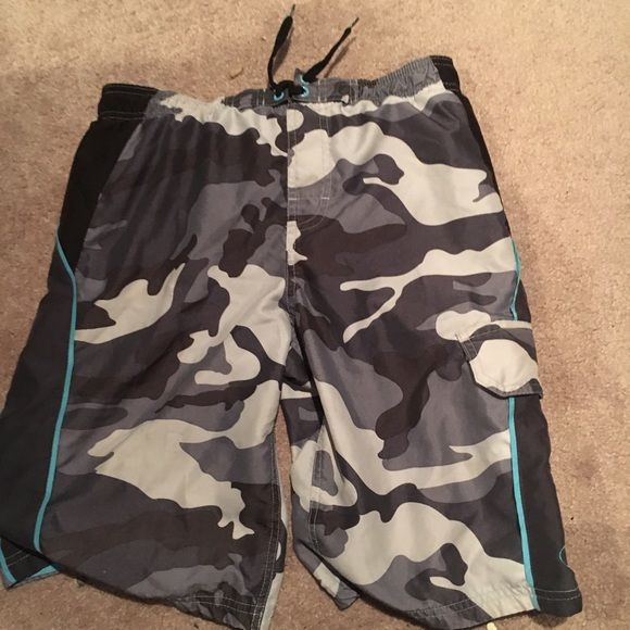 Bathing suit shorts Bathing suit shorts with netting perfect to bundle OP Swim