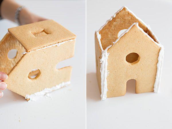 Wie ein Lebkuchenhaus Machen
