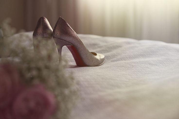 Louboutin Wedding Shoes   Artistic wedding photography, engagement photos and portraits   chasephotography.ca
