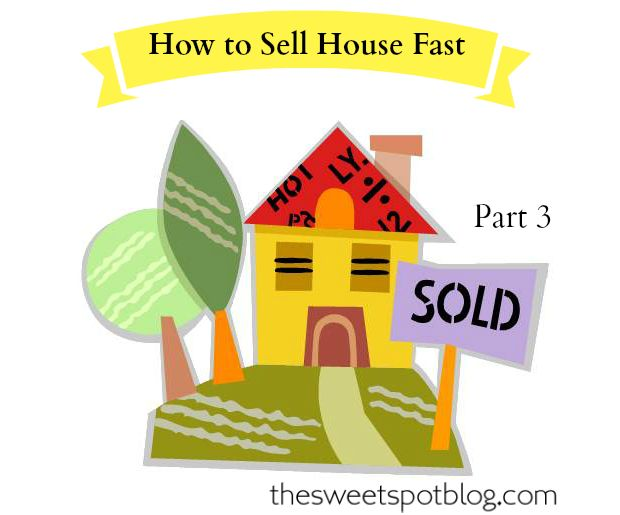 How to Sell House Fast!: Deep Clean Outside  http://thesweetspotblog.com/how-to-sell-house-fast-deep-clean-outside/