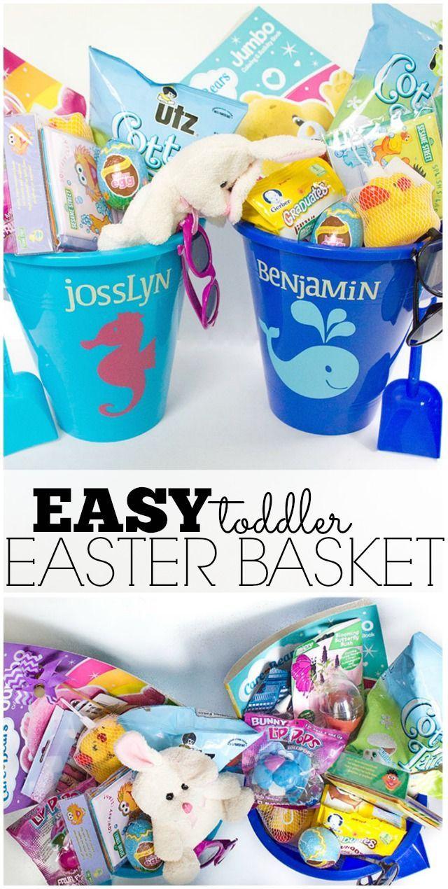 Easy Toddler Easter Basket Diy Ideas Pinterest Easter Baskets