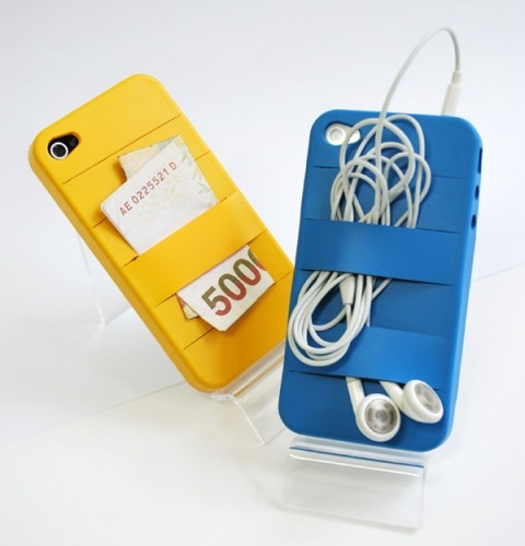 I NEED this! My ear buds are always tangled and left in the wrong room: Iphone Cases, Ideas, Stuff, Elasty Iphone, Iphone Cover, Products, Design