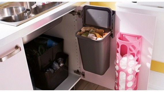 smart u0026 spacesaver ideas for kitchen storage need the walmart bag storage find this pin and more on compost